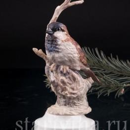 Статуэтка птицы из фарфора Воробей, Англия, вт. пол. 20 в.