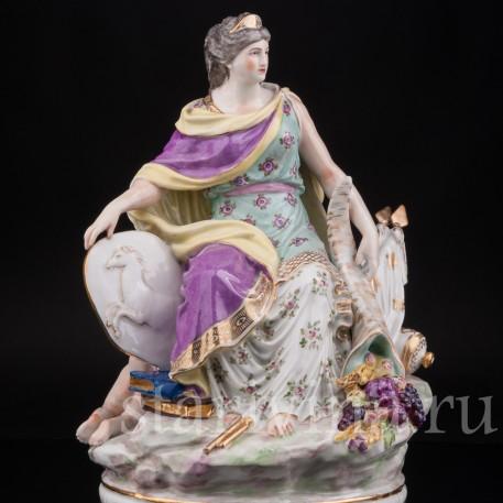 Фарфоровая статуэтка девушки Европа, Samson, Франция, кон. 19 в.
